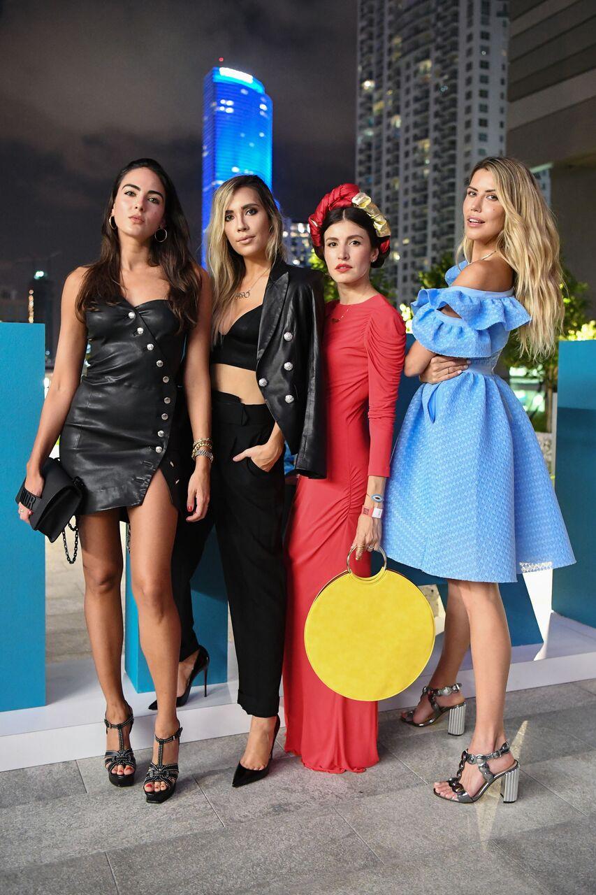 Daniela Botero, Carolina Lindo, Danie Gómez-Ortigoza and Martha Graeff