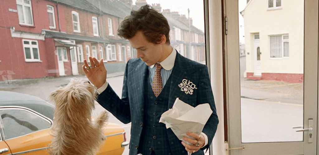 New Gucci Mens Campaign Featuring Harry Styles