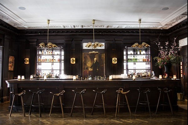Nothing Gold Can Stay at The George Washington Bar at the Freehand Hotel. On the Hottest bars in NYC list