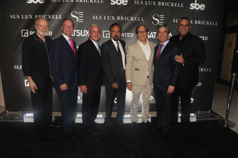Glenn Pushelberg, Allen Morris, Carlos Gimenez, Jorge Perez, Bernardo Brescia, Carlos Rosso, & Sam Nazarian4