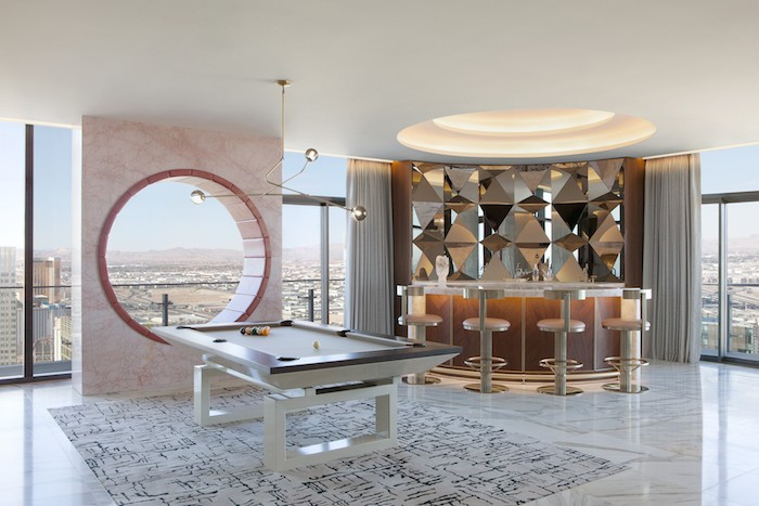Step Inside A Newly Designed High Roller Penthouse At The Cosmopolitan Of Las Vegas With Daun Curry