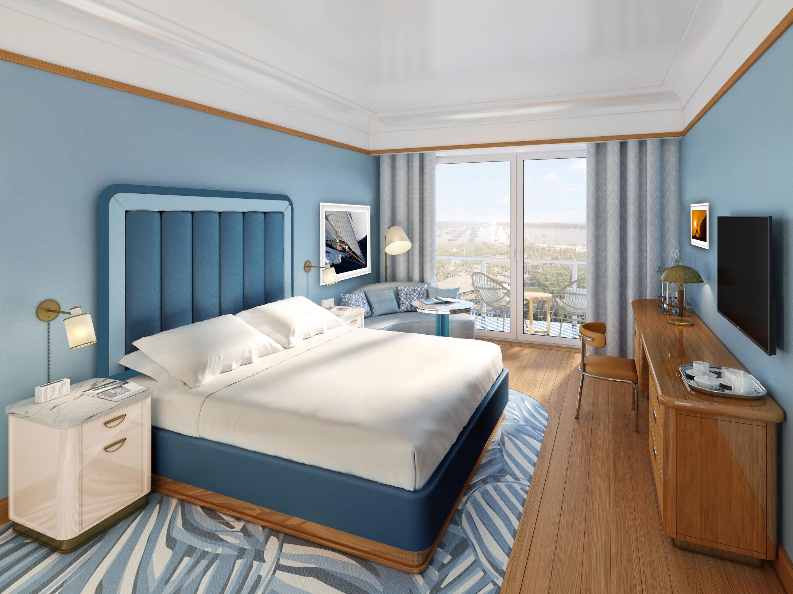 Mr. C Coconut Grove King Bed Guestroom