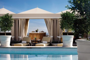 MBH – Architectural – Rooftop Pool Cabana