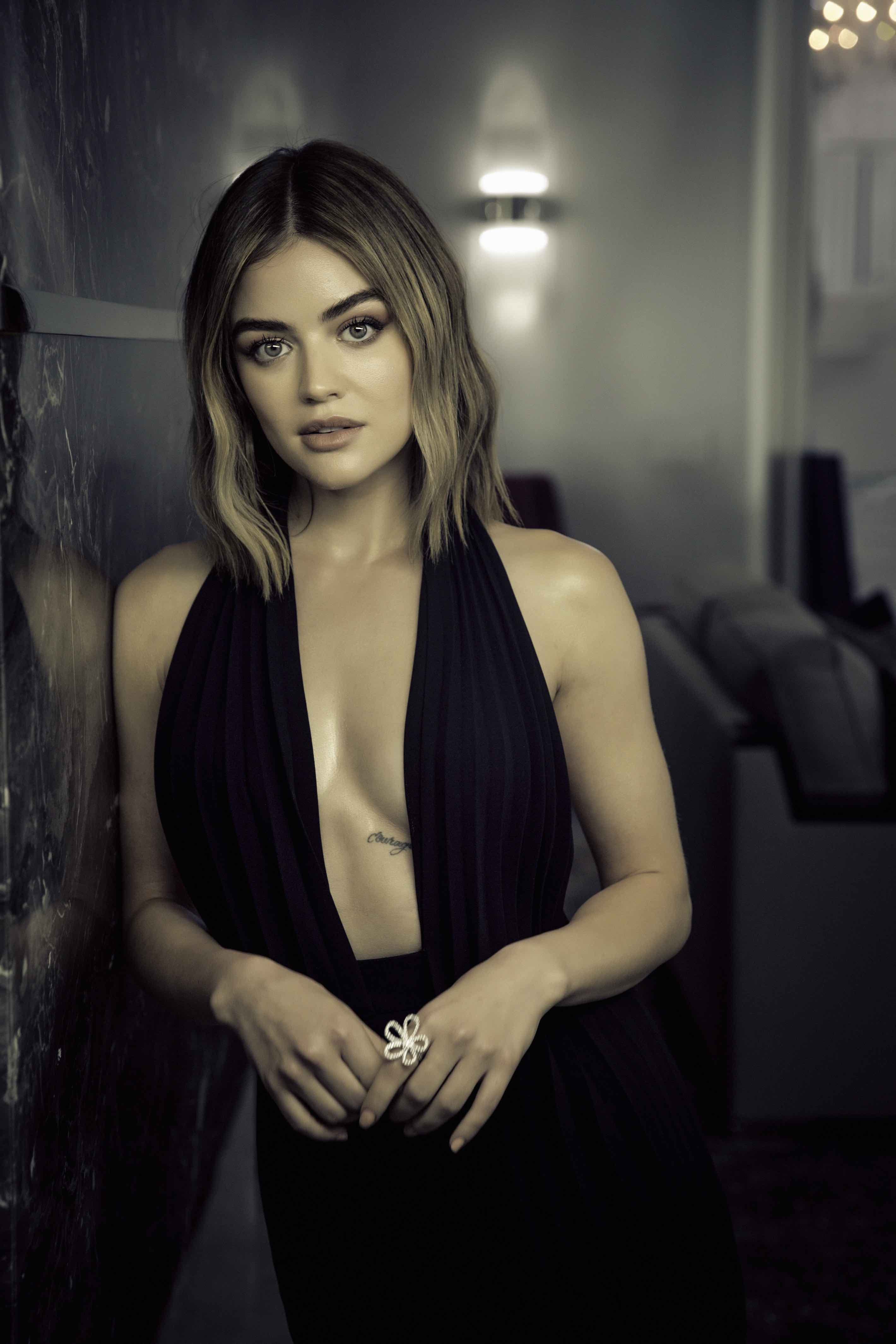Bedroom Lucy Hale On The Adventurous Way She S Saying Farewell To