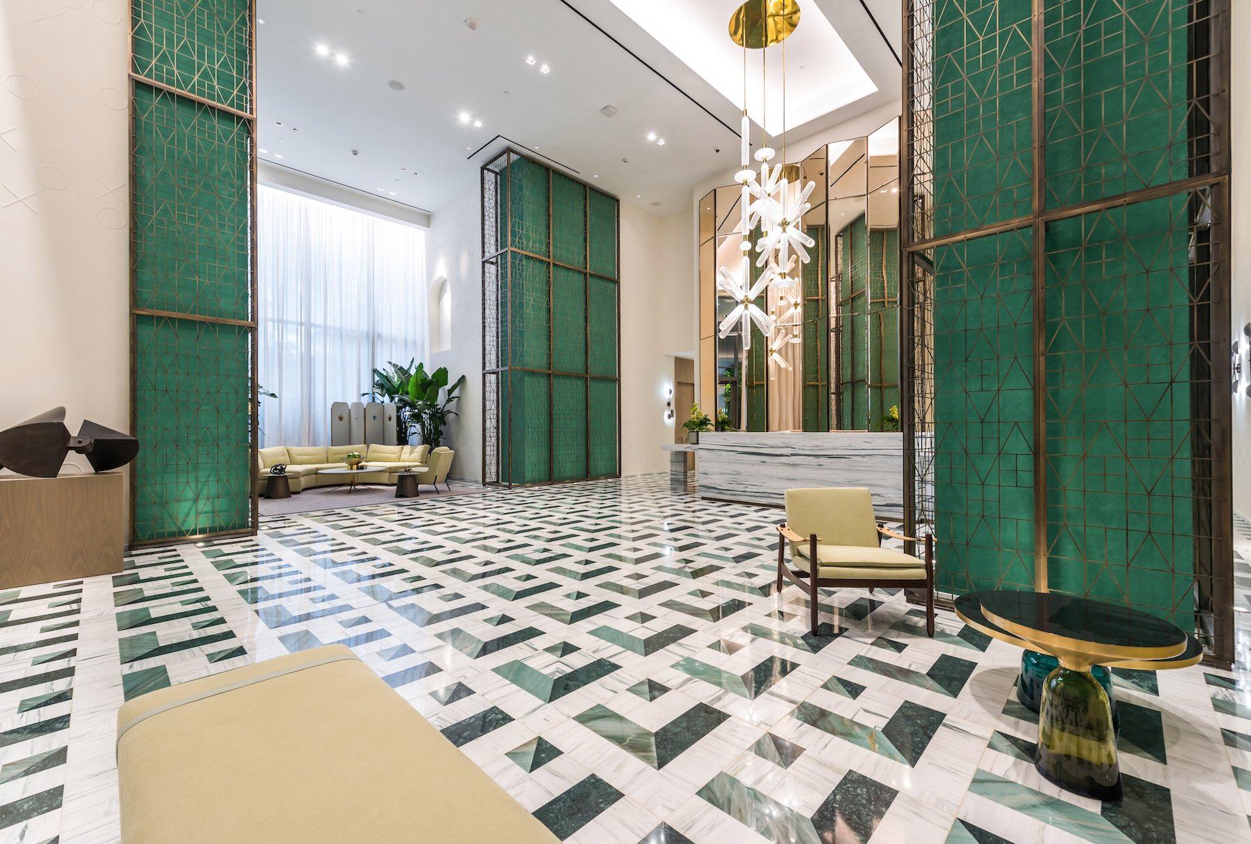 SLS LUX Brickell Lobby
