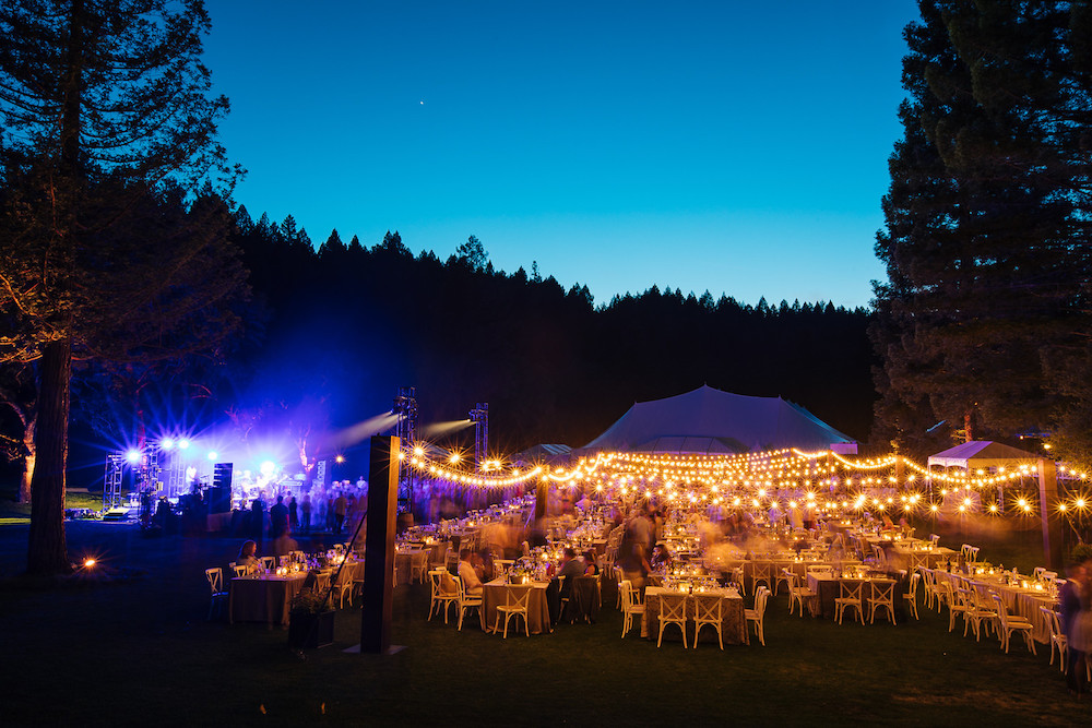 Auction Napa Valley's dinner at Meadowood