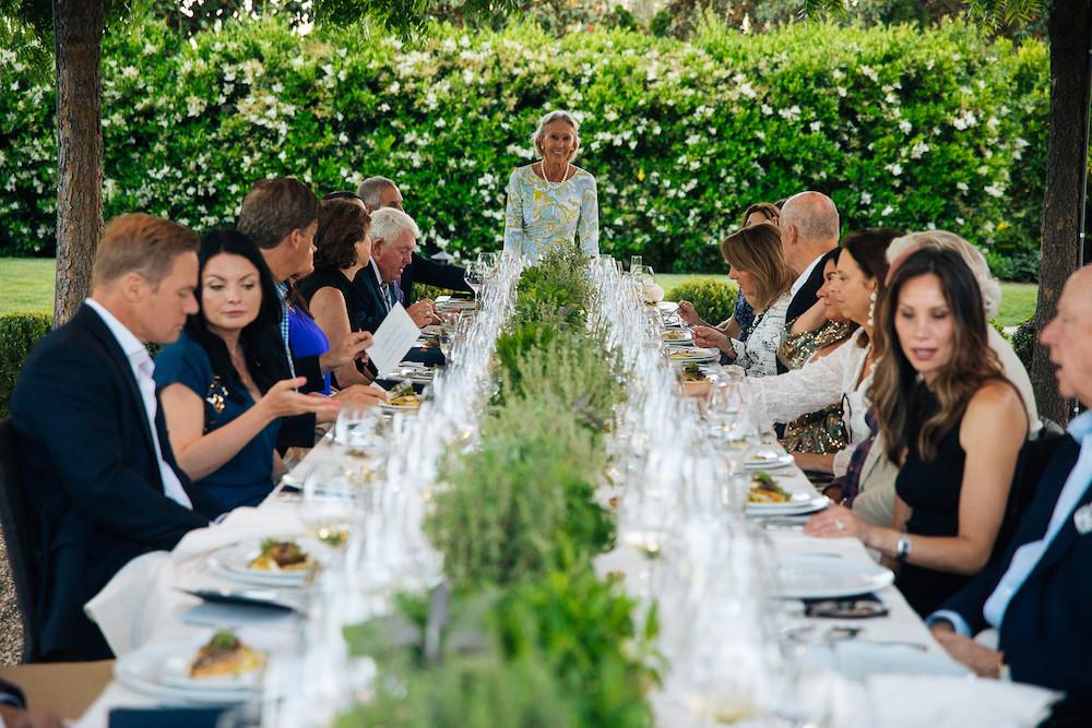 A vintner's dinner