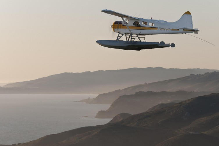 DeHaviland Beaver over San Francisco
