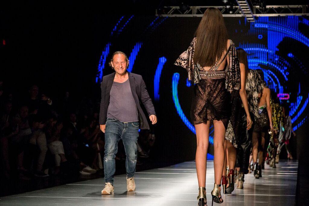 Custo Barcelona Runway Show at Miami Fashion Week