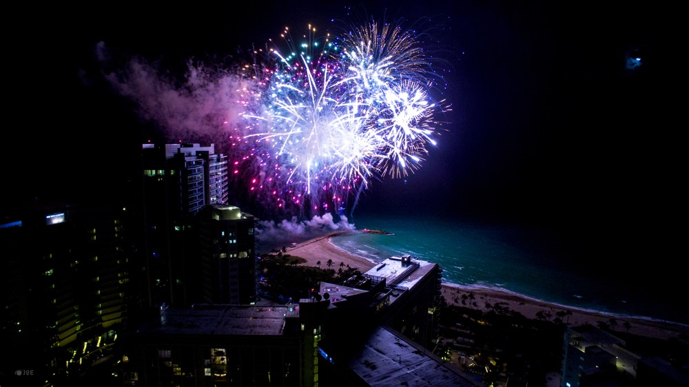 Fourth of July Fireworks Miami