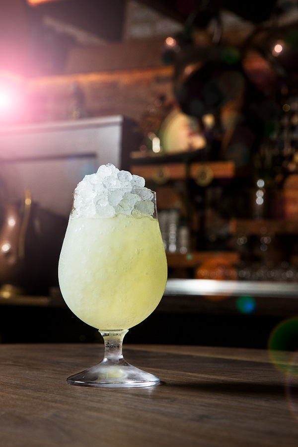 Upscale NYC Bars The Dead Rabbit The Song and Dance Drink by bartender Rebekkah Dooley