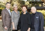NAPA VALLEY, CA - May 2 -  Rick Walker, Karen Walker, Maria Manetti Shrem and Jan Shrem attend Festival Napa Valley Tribute Dinner to Darioush and Shahpar Khaledi at Gargiulo Vineyards on May 2nd 2018 at Gargiulo Vineyards in Napa Valley, CA (Photo - Drew Altizer)