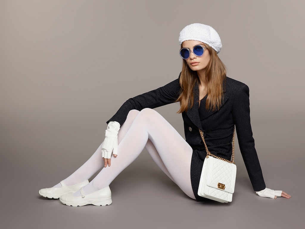 a113d56e4f2 Karl Lagerfeld Reinvents A CHANEL Staple Accessory  The Hat