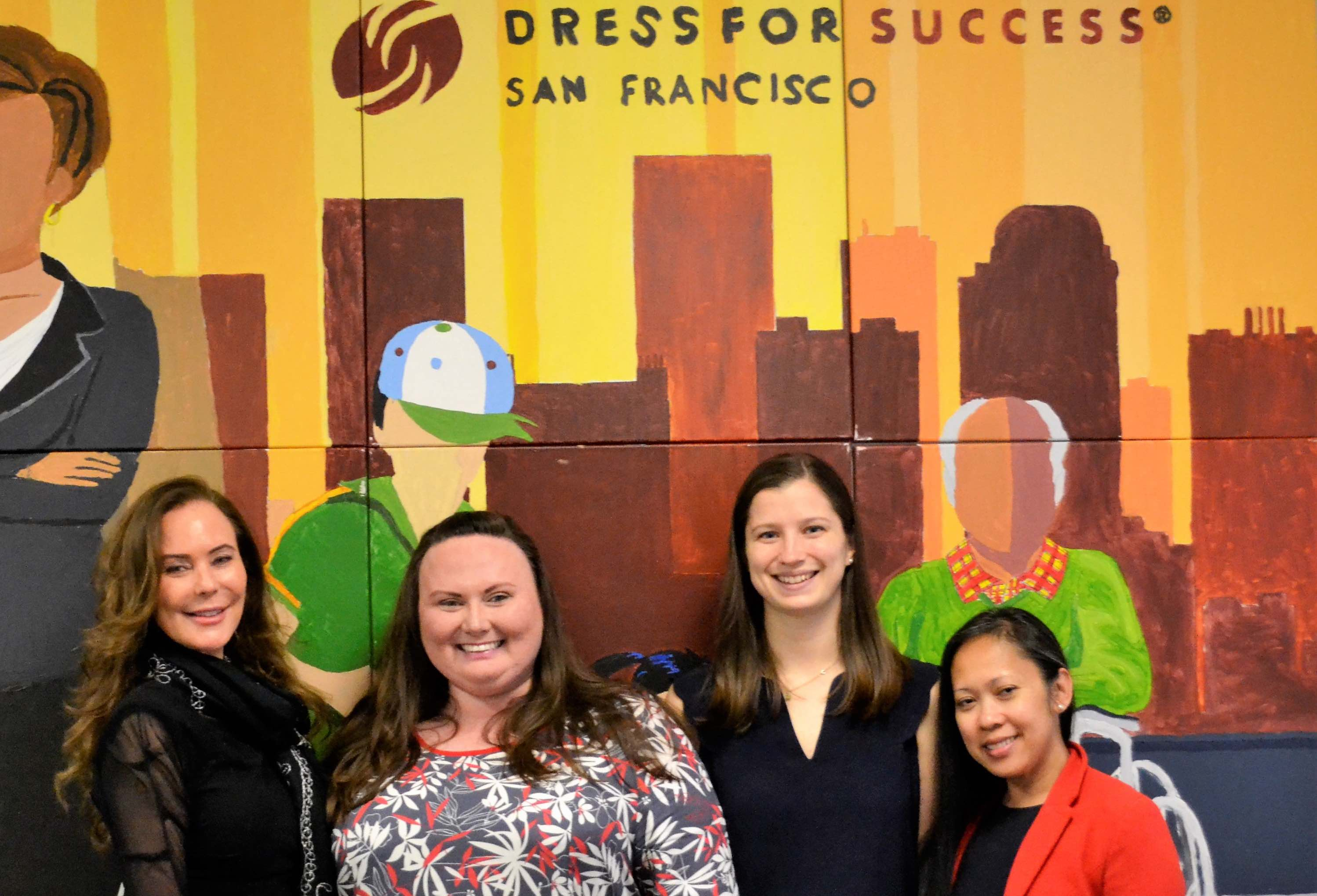 The team at the Dress For Success boutique.