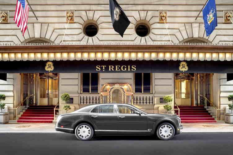 2018 Bentley Courtesy Car