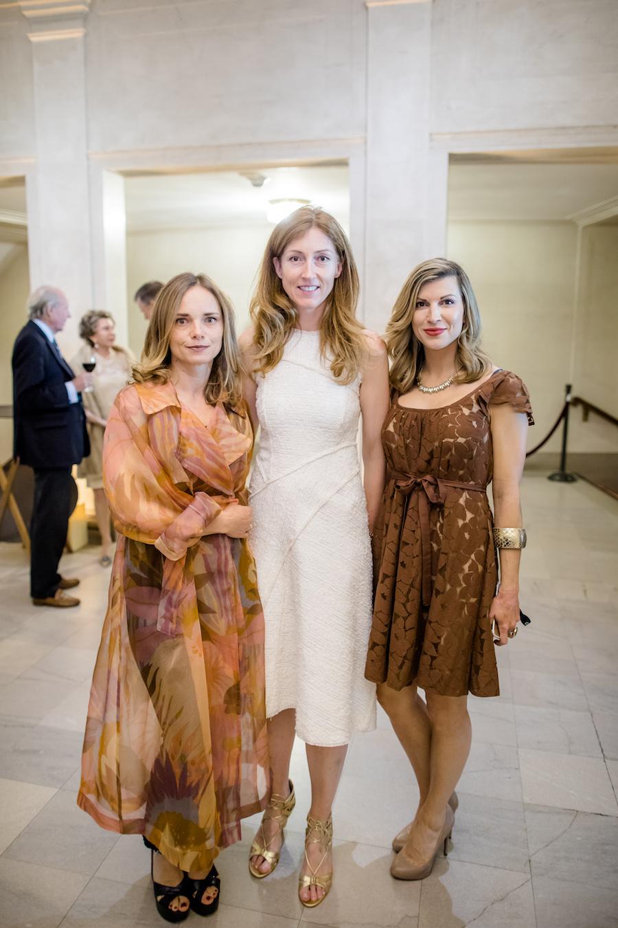 Nina Hollein, Helena Nordstrom and Linda Butler
