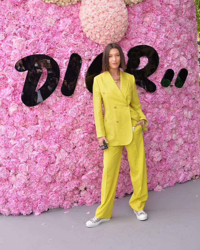 PARIS, FRANCE - JUNE 23: Bella Hadid attends the Dior Homme Menswear Spring/Summer 2019 show as part of Paris Fashion Week on June 23, 2018 in Paris, France. (Photo by Francois Durand/Getty Images for Dior) *** Local Caption *** Bella Hadid