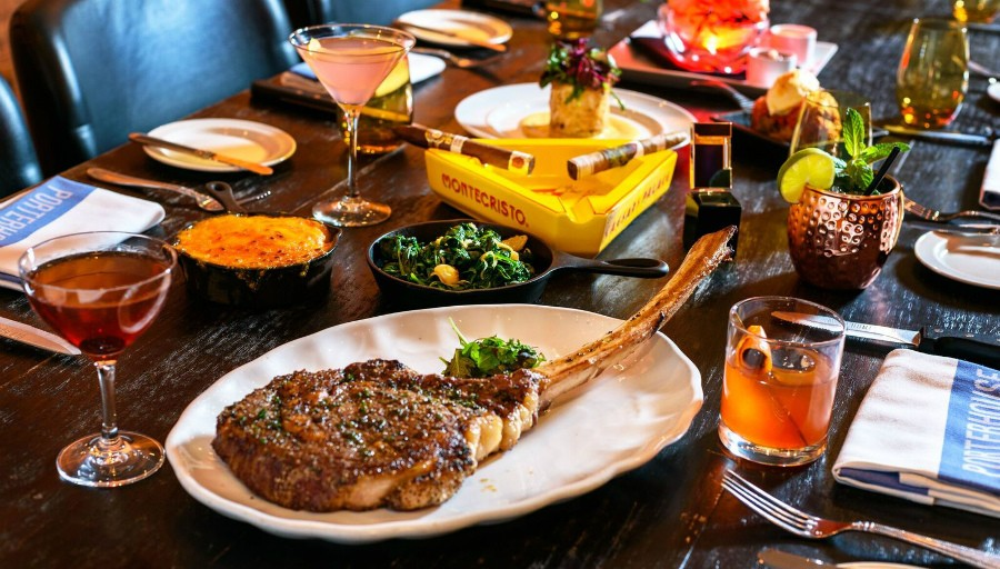 Caesars Pairs The Best Cigars And Steak Inside New Semi-Private Clubhouse