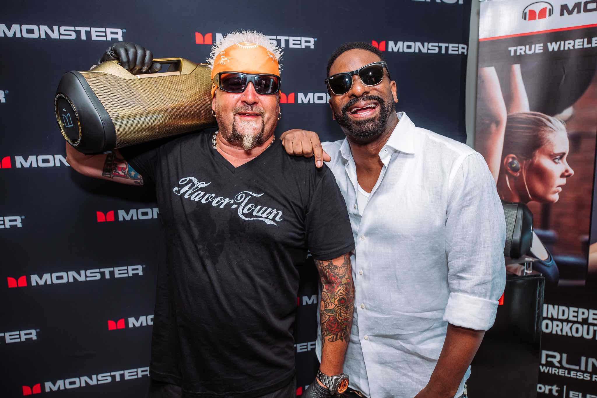 Guy Fieri and DJ Irie