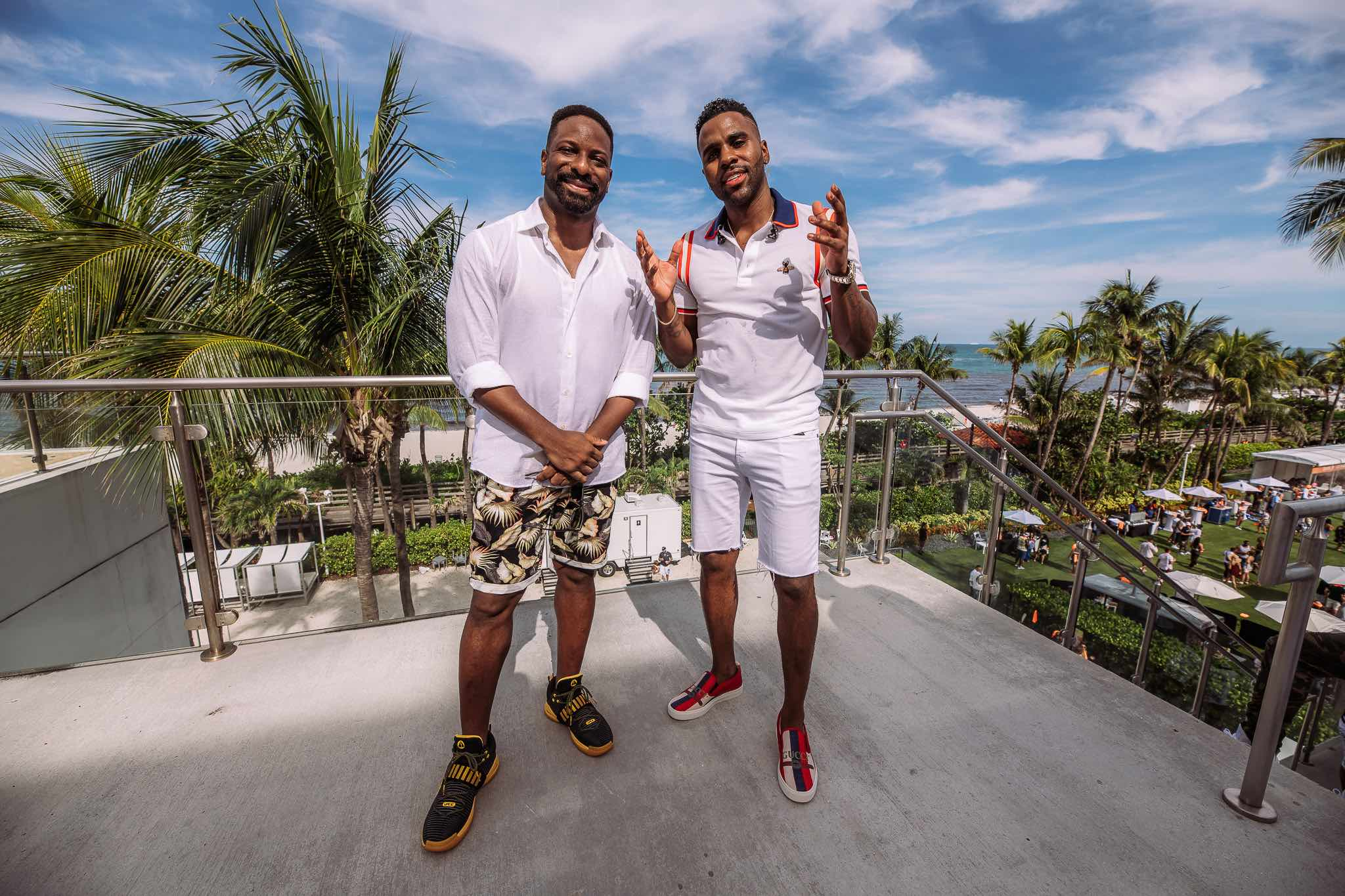 DJ Irie and Jason Derulo