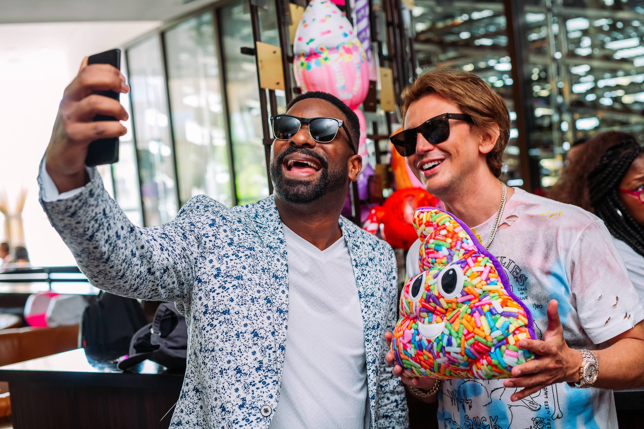 DJ Irie and Foodgöd at Turn Down For Brunch