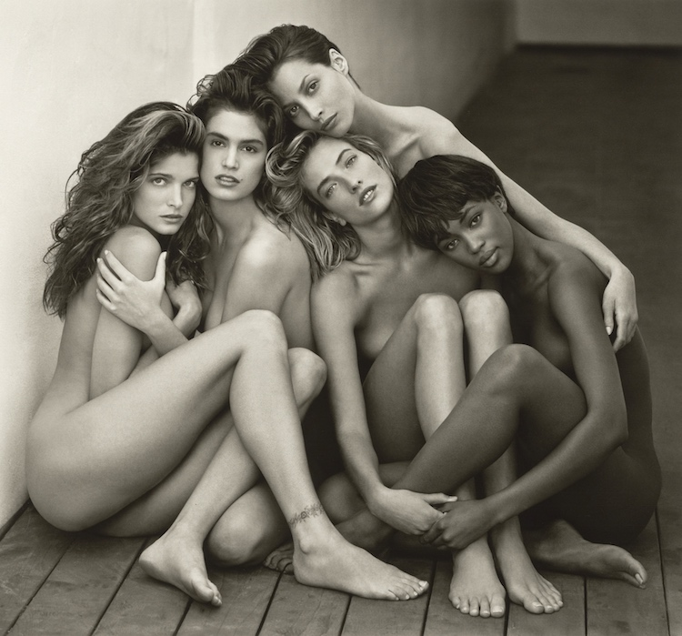Stephanie, Cindy, Christy, Tatjana, Naomi, Hollywood