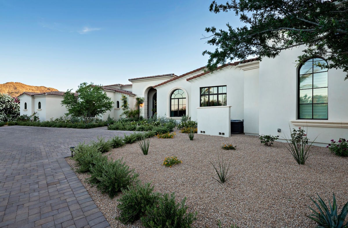 The Cain residence in Paradise Valley, Arizona