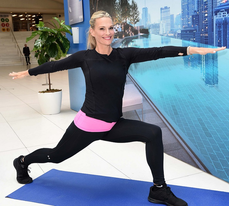 Molly Sims Attends the World of Hyatt Chase Credit Card Launch Event