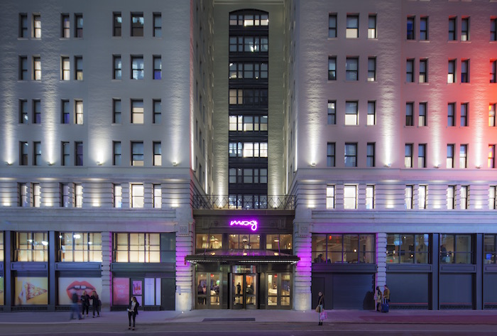 Moxy Times Square Exterior