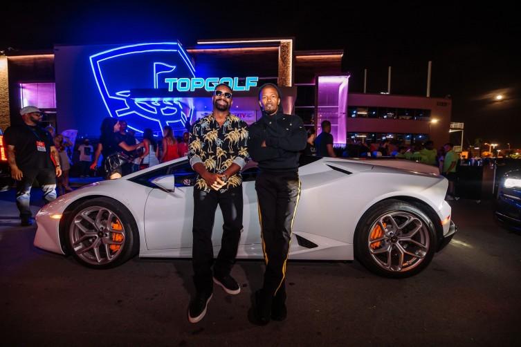 Jamie Foxx and DJ Irie