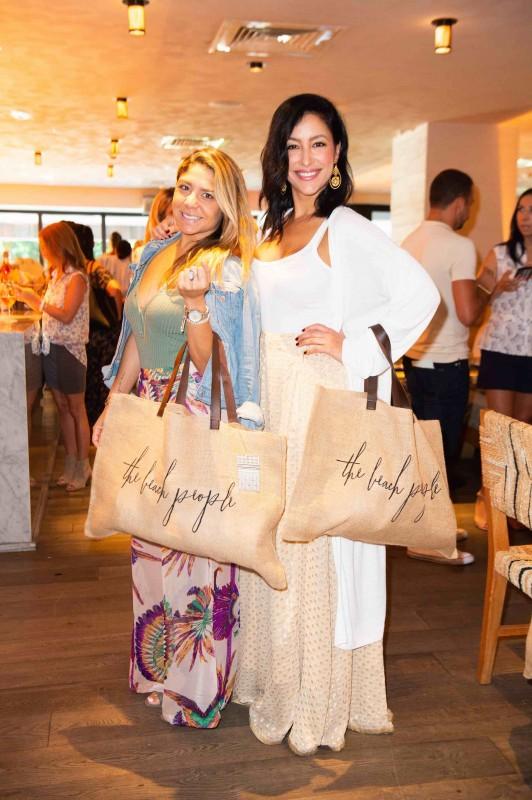 Tatiana Meira and Violet Camacho