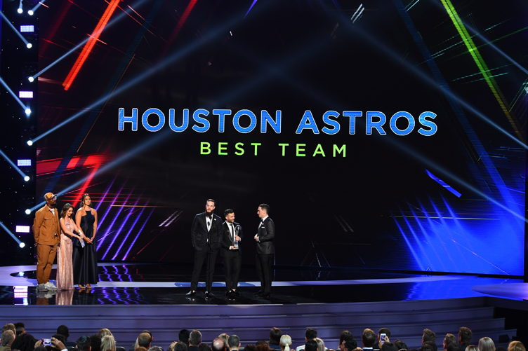 Houston Astros win Best Team