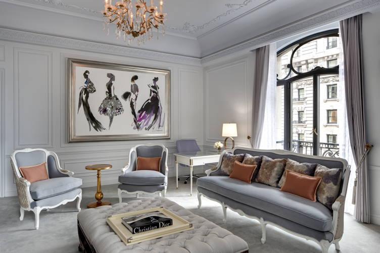 Dior bedroom