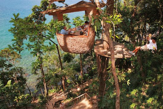 Treepod dining experience3 at Soneva Kiri by Cat Vinton