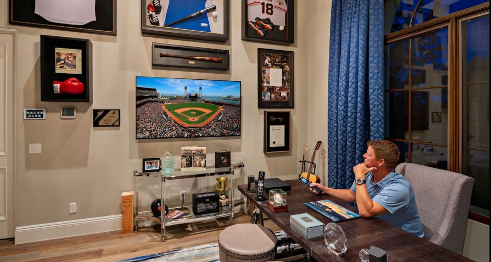 Inside Former Giants Star Matt Cain's Stunning New Smart Home