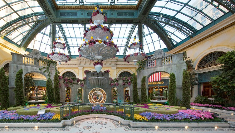 summer display bellagio conservatory