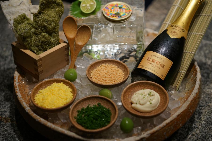 Zuma Caviar and Champagne