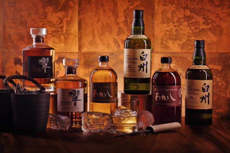 zuma japanese whiskey selection