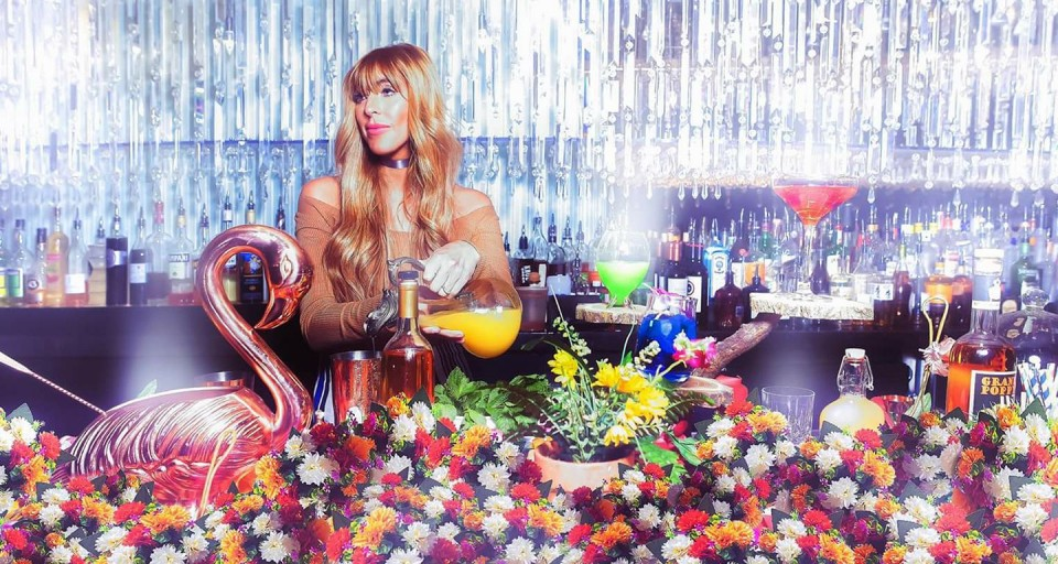 "Mariena Mercer Takes You Down The Rabbit Hole At The Cosmopolitan Of Las Vegas With ""Alice In Wonderland,"" Space-Inspired Cocktails"