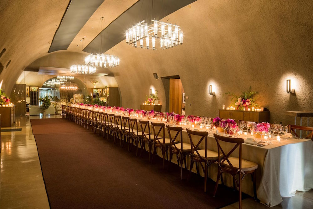 The setting for an exclusive dinner at last year's festival
