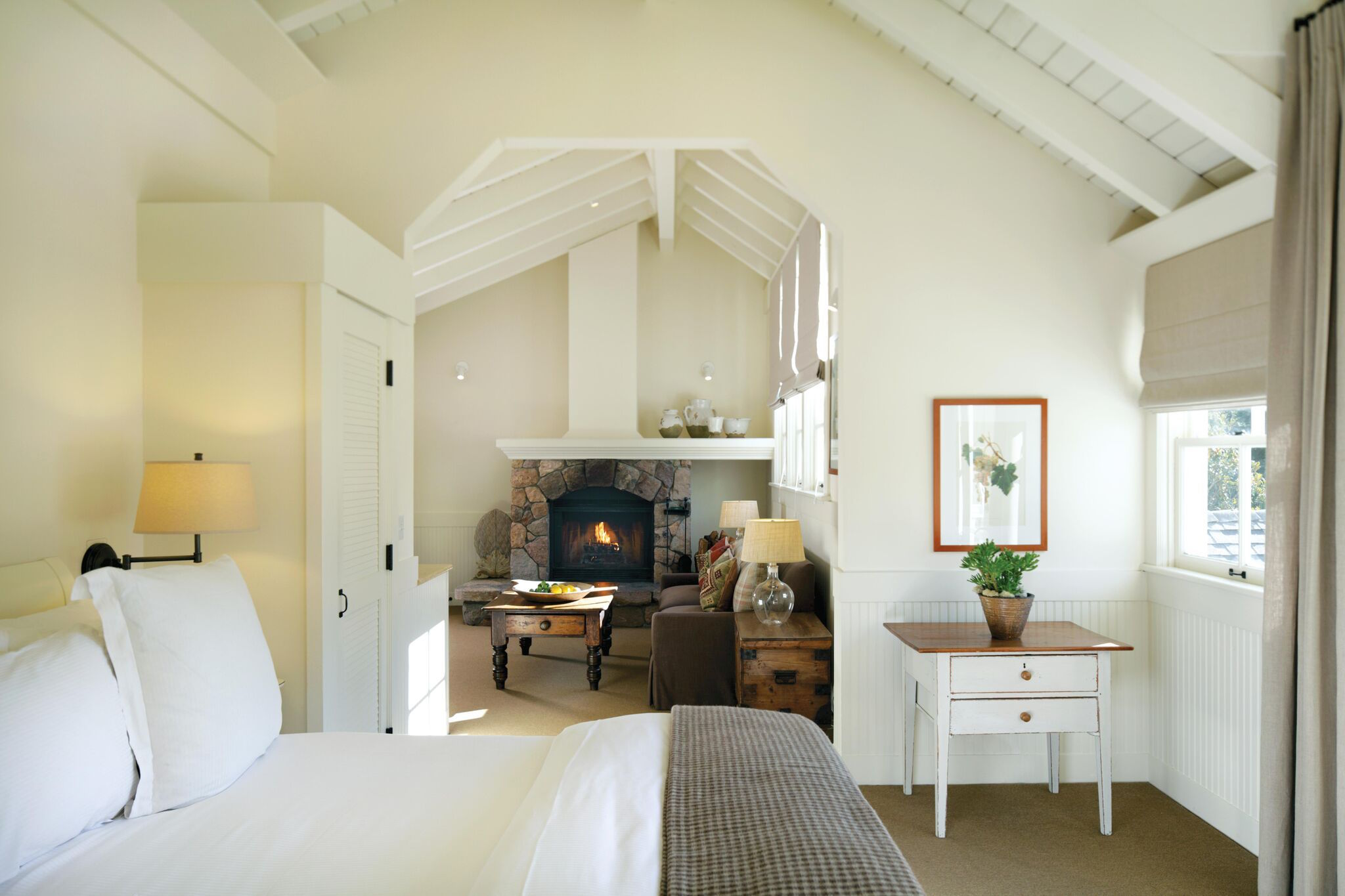 One of the hotel's guestrooms