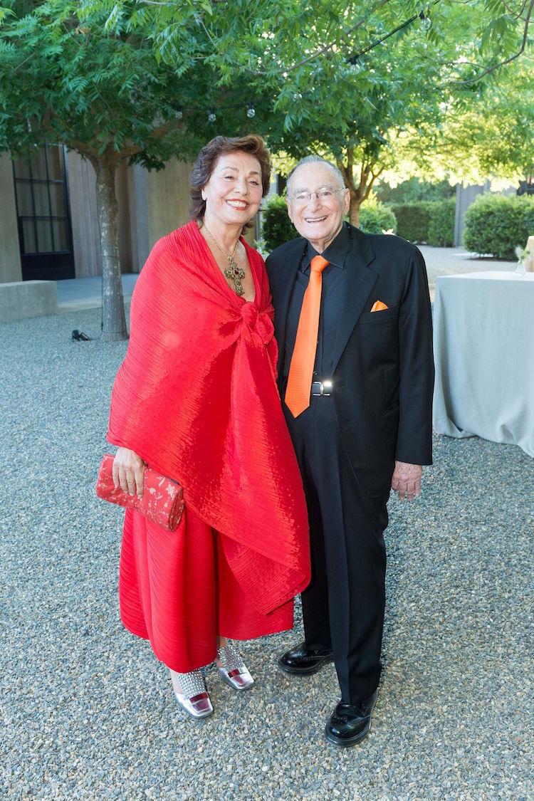 Maria Manetti Shrem and Jan Shrem