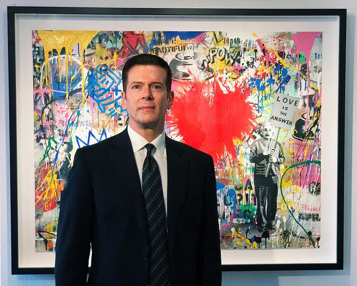 Gallery director Mark Miles