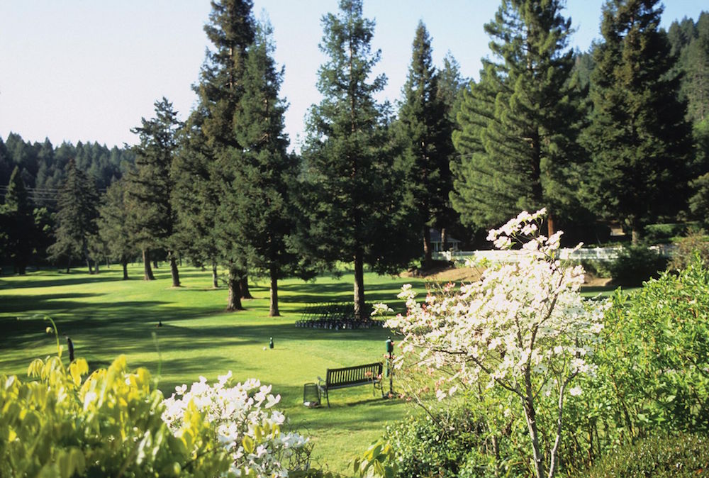 The resort's golf course