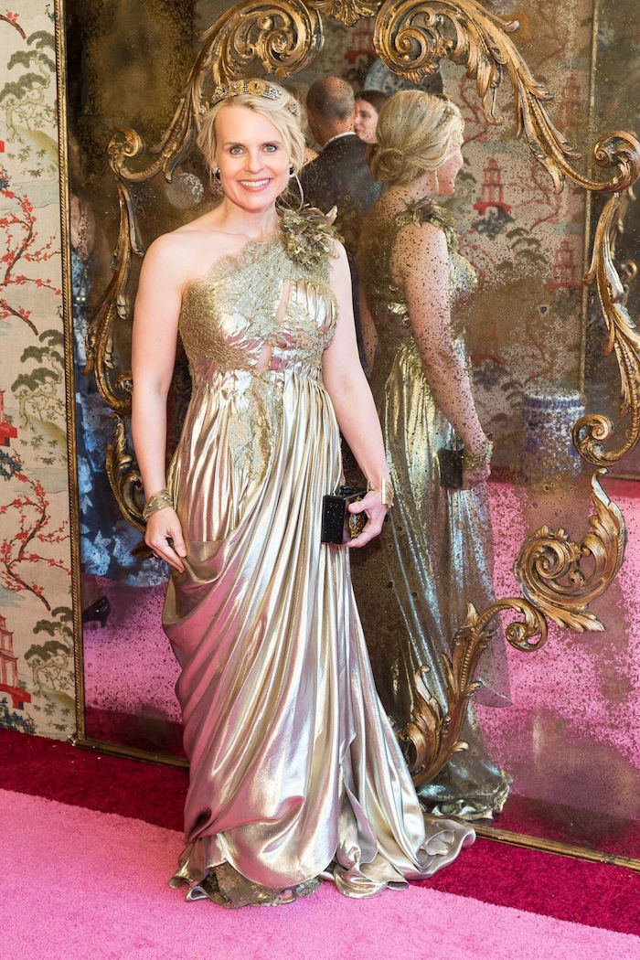 Jane Mudge at the 2017 Ball