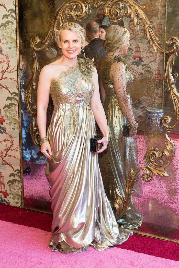 Jane Mudge at the 2017 Ball