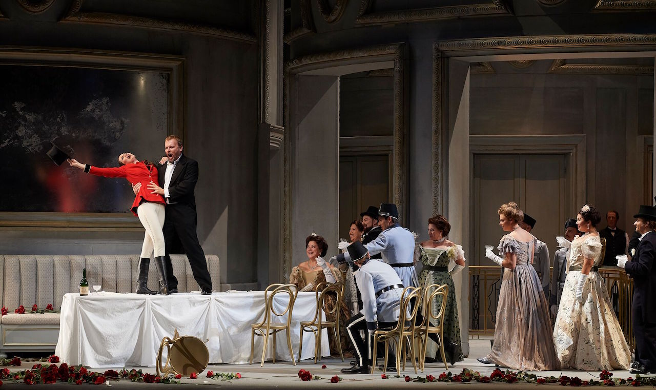 "The San Francisco Opera performing Strauss' ""Arabella"""