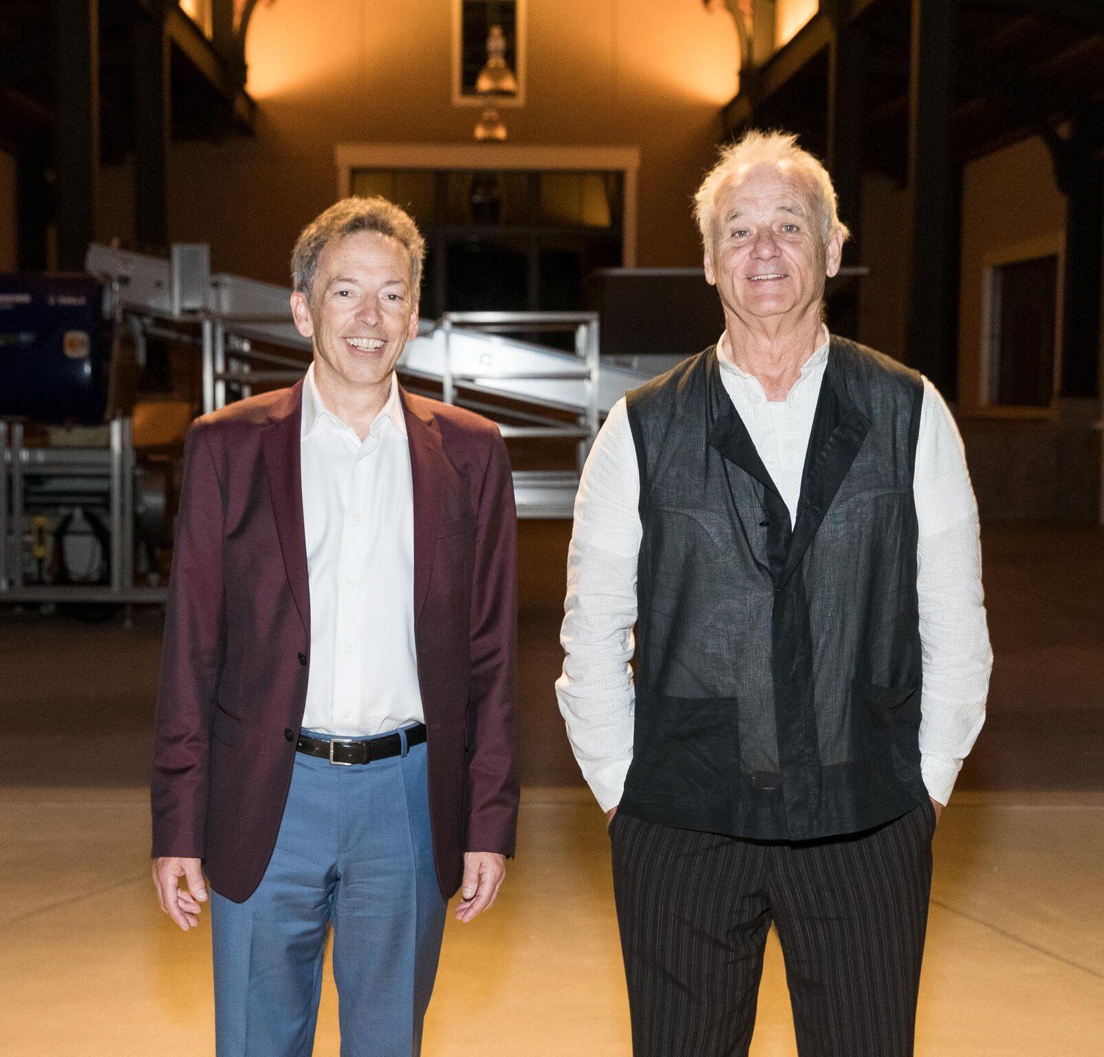 Festival founder Rick Walker and Bill Murray