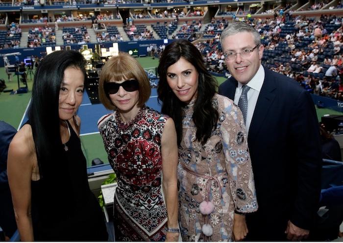 Vera Wang, Anna Wintour, Cheryl Scharf, Y. David Scharf