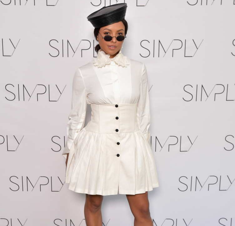 Kat Graham attends the SIMPLY LA Fashion & Beauty Conference Powered By WhoWhatWear at The Americana at Brand on August 11 in Glendale, California.